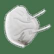 FFP2-Atemschutzmaske links