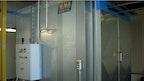 Kammerofen mit pneumatischen Türen