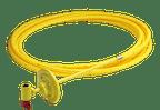 HDPE-Anschluss und Eck-Absperrventil