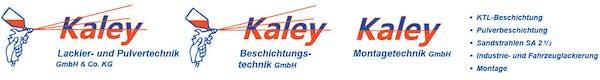 Logo von Kaley Lackier-u. Pulvertechnik GmbH & Co. KG