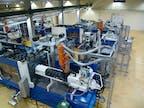 Spritzgussmaschinen und IML-Handling