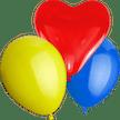Luftballon - Alle Formen & Farben