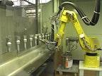Roboter-Lackieranlage