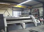 CNC-Vierwalzen-Rundbiegemaschine