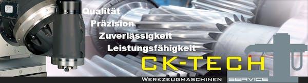 Logo von CK-TECH Werkzeugmaschinen Service