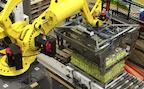 Roboter Palettieranlage