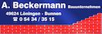 Logo von A. Beckermannn Bauunternehmen GmbH & Co. KG