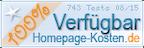 Logo, Auszeichnung Homepage-Kosten.de