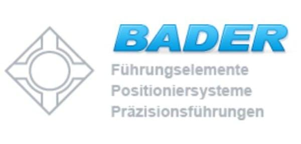 Logo von Bader Führungselemente GmbH + Co. KG