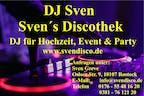 Logo von DJ Sven - Sven´s Discothek