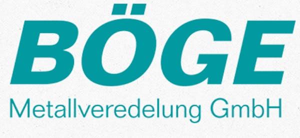 Logo von Böge Metallveredelung GmbH