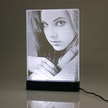 LED-Schild mit Fotogravur