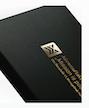 Verpackungsveredelung mit Goldfolienpräg