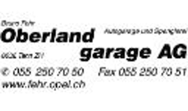 Logo von Bruno Fehr, Oberland-Garage AG