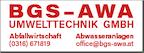 Logo von BGS-AWA UMWELTTECHNIK GMBH