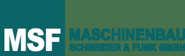 Logo von Maschinenbau Schneider & Funk GmbH