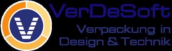Logo von VerDeSoft GmbH - Verpackung in Design und Technik