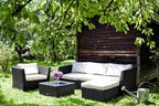 Polyrattan-Loungemöbel