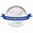 TOPLIST der Telematik - Zertifikat 2020