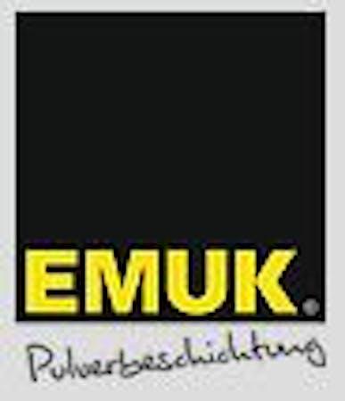 Logo von Emuk Pulverbeschichtung