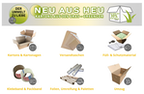 Sortiment Verpackungsmaterial