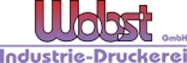 Logo von Industrie-Druckerei Wobst GmbH