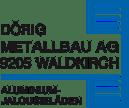 Logo von Dörig Metallbau AG