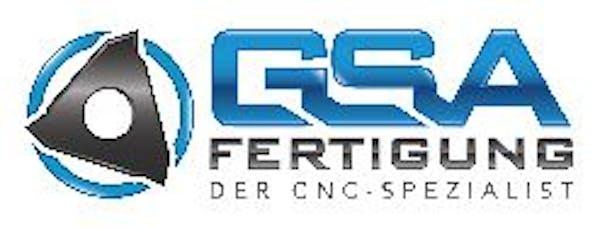 Logo von GSA Fertigung - Der CNC-Spezialist