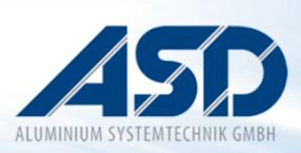 Logo von ASD Aluminium Systemtechnik GmbH