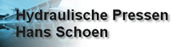 Logo von Hydraulische Pressen Hans Schoen GmbH