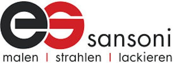 Logo von E. Sansoni, Malergeschäft / Strahltechnik