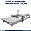 Lasersystem für Textil