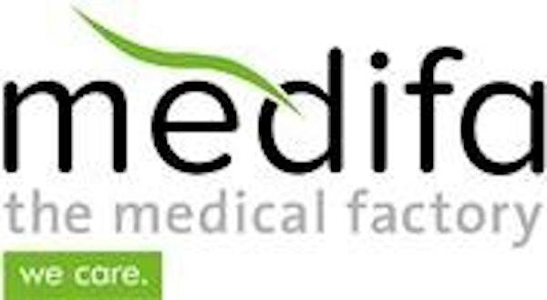 Logo von medifa metall und medizintechnik GmbH