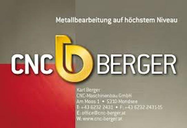 Logo von Karl Berger CNC-Maschinenbau GmbH