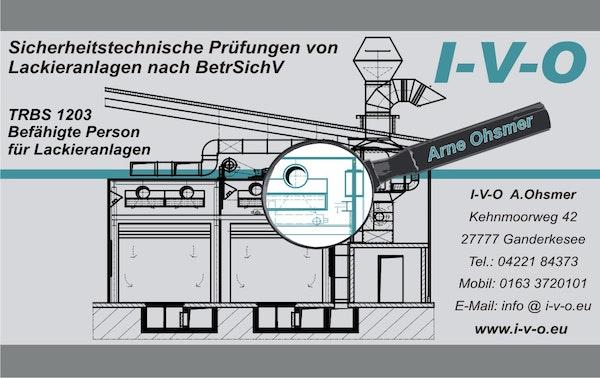 Logo von I-V-O Industrie Vertretungen Ohsmer