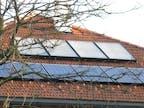 Warmwasser- und Photovoltaikanlage