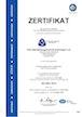 Zertifikat ISO 9001:2015