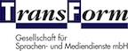 Logo von TransForm Gesellschaft für Sprachen-und Mediendienste mbH