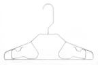 Edelstahl-Kleiderbügel