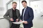 CEOs Dominik und Michael Biersack