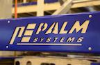 Palm Systems Logo auf Portalentleerung