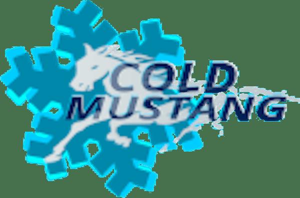 Logo von Cold Mustang Trockeneisstrahlen / Trockeneisreinigung