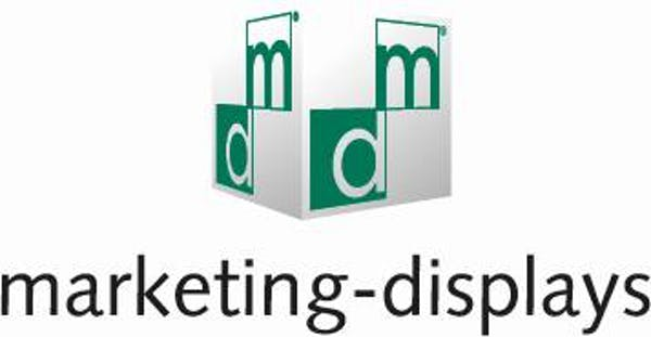 Logo von marketing-displays GmbH & Co. KG
