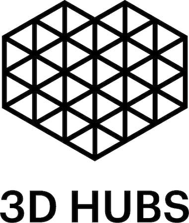 Logo von 3D Hubs B.V. Online-Fertigungsplattform