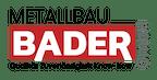 Logo von Metallbau Bader GmbH