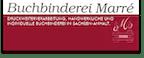 Logo von Buchbinderei Marré