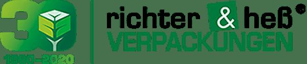 Logo von richter & heß INDUSTRIE- und GEFAHRGUTVERPACKUNGS GmbH
