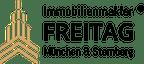 Logo von Immobilienmakler FREITAG® in Neubiberg für München & Starnberg