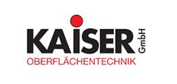 Logo von KAISER  GmbH Oberflächentechnik