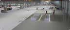 Zementgebundener Industrieboden